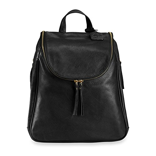 Levenger Leather Alexa Woman's Backpack, Lapdesk Backpack by Levenger