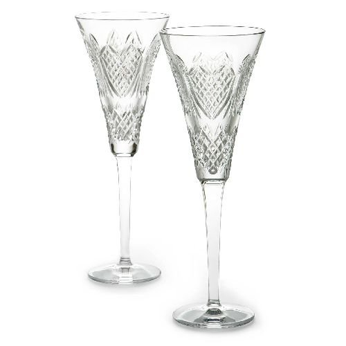 Heirloom Crystal (Waterford Crystal Wedding Heirloom Flute Pair)