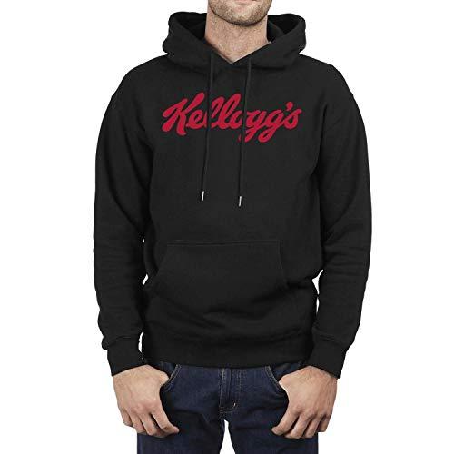 (Long Sleeve Mens Kellogg's Pullover Hoodie)