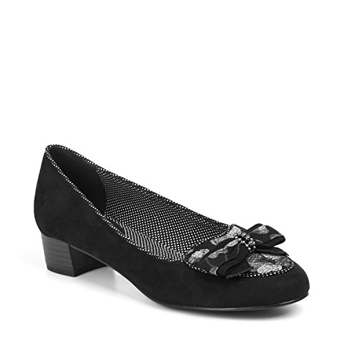 Ruby Shoo Victoria (Black) by Size 9/42 XVvuD