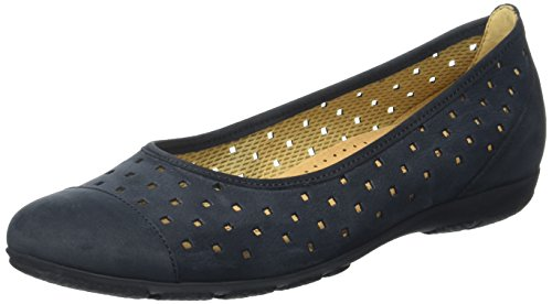 Gabor 169 Shoes Womens 16 Ruffle Nightblue Blue 44 FPFrq