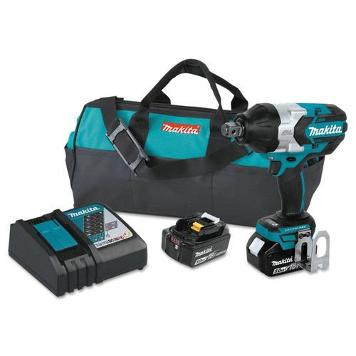 Makita XWT07T 5.0 Amp 18V LXT Lithium-Ion Brushless Cordl...
