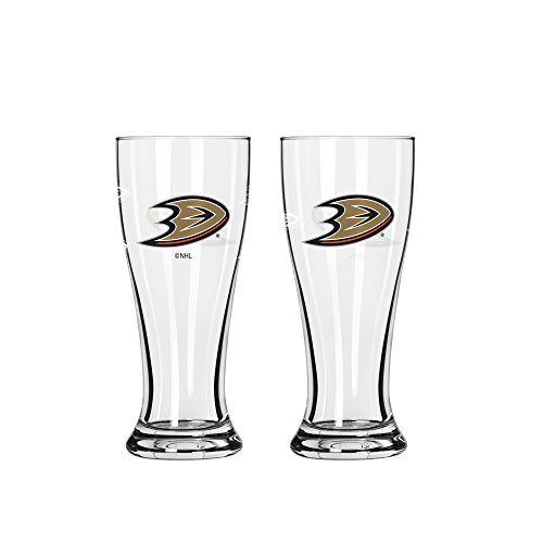 NHL Anaheim Ducks Mini Pilsner, 2.5-ounce, 2-Pack (Nhl Mini Ducks)