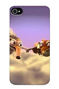 2ec86bf3550 New Premium Flip Case Cover Ice Age 3 Dawn Of The Dinosaursscrat And Scrae Skin Case For Iphone 4/4s As Christmas's Gift