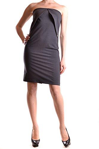 Liu Jo Damen MCBI191255O Grau Polyester Kleid