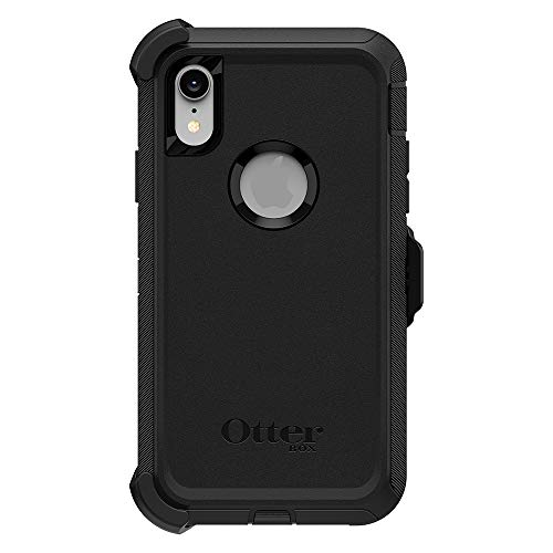 OtterBox Defender Series SCREENLESS Edition Case for iPhone Xr - Retail Packaging - Black by OtterBox (Image #1)