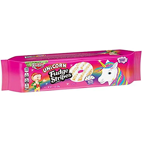 Keebler Fudge Stripes Unicorn Funfetti Cake Cookies (Pack of 24) by Generic (Image #1)