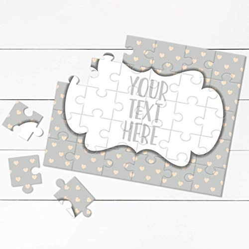 Create Your Own Puzzle - Pregnancy Announcement - Custom Puzzle - Personalized Puzzle - Announcement Ideas - Wedding Announcement - CYOP0208