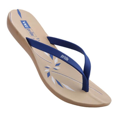 8116f64b9a25 VKC Pride Women s Blue Sandal (7)  Buy Online at Low Prices in India -  Amazon.in