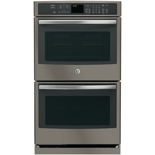 GE PT7550EHES Profile 30″ Slate Electric Double Wall Oven – Convection