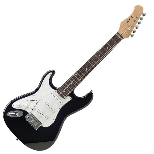 Stagg S300 3/4 LH BK - Guitarra eléctrica (para zurdos), color negro: Amazon.es: Instrumentos musicales