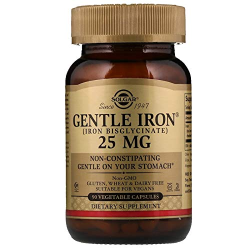 Solgar Gentle Iron 25mg, 90 Vegetable Capsules