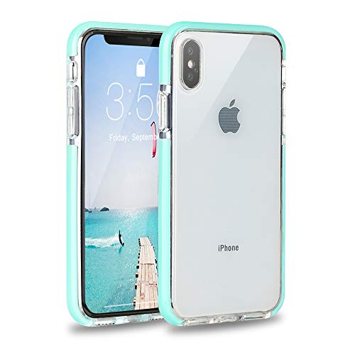 iPhone Xs Max Case, FGA Clear Transparent Cute Slim Soft Hybrid Protective Crystal Flexible Soft TPU Bumper Back Skin Cover for iPhone Xs Max-6.5 inch (2018)