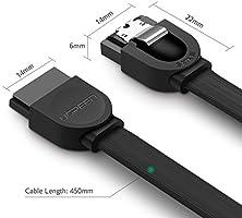 UGREEN Cable SATA III de Datos 6 Gbps 3 Unidades para Conexión ...