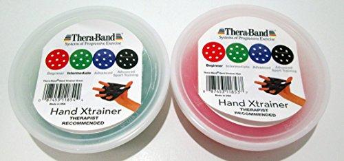 Thera-Band Hand X-trainer Set Multi-Pack Beginner - Hand Thera Trainer Band