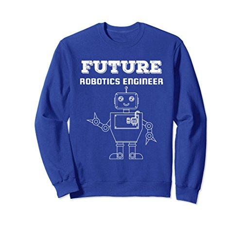 Unisex Future Robotics Engineer Robot Technology Sweatshirt Gift Medium Royal Blue - Futures Sweatshirt