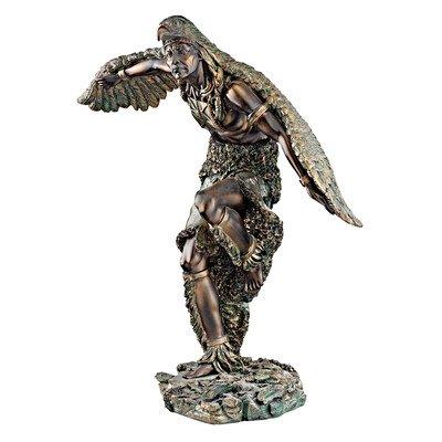 Design Toscano QL1850 Der Adler Tänzer Skulptur