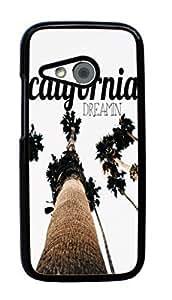 Hard Case for HTC One Mini 2 / HTC One Remix / HTC M8 Mini (California Funny)