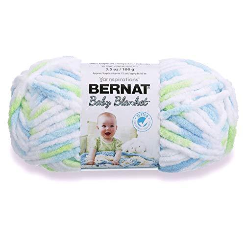 Bernat Baby Blanket Yarn (03233) Funny Prints (Blanket Baby Prints Funny Bernat)
