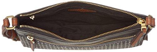 Stripe bandoulière Fiona Sacs Fossil Multicolore Black q1wAxga