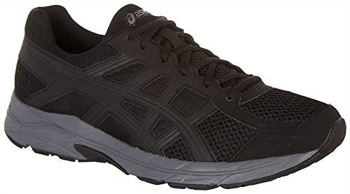 ASICS Gel-Contend 4 Men's Running Shoe, Black/Dark Grey, 11.5 M US