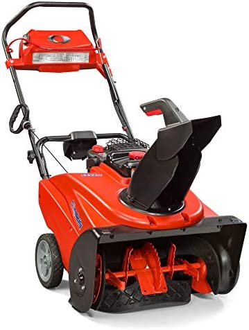 Briggs Stratton 1696506 Single Stage Snow Thrower with Snow Shredder Technology and Electric Start, 22-Inch