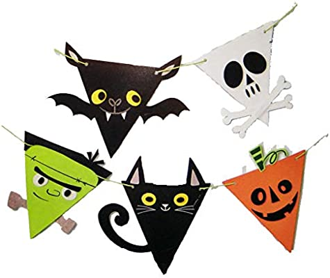 Amazon.com: Cartel de fieltro para Halloween, kit de ...