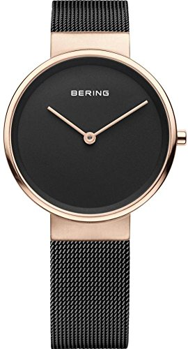 BERING Time 14531-262 Womens Classic Collection Watch with Mesh Band and scratch resistant sapphire crystal. Designed in Denmark.