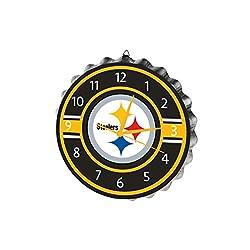 FOCO Pittsburgh Steelers Bottlecap Clock