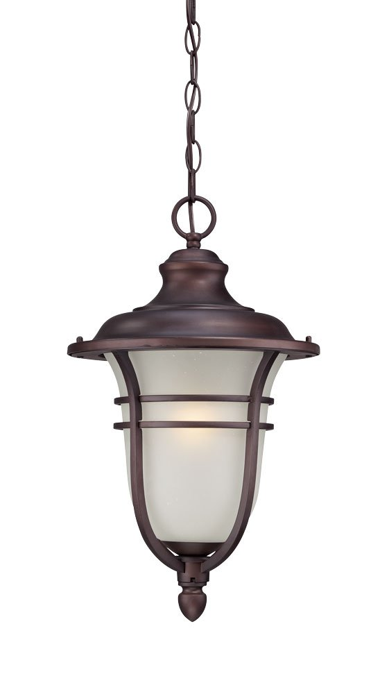 Acclaim 3676ABZ Montclair Collection 1-Light Outdoor Light Fixture Hanging Lantern, Architectural Bronze