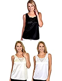Patricia Lingerie Women's Anti-Static Camisole with Elegant Lace