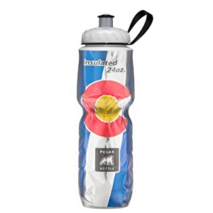 Polar Bottle Insulated Water Bottle (24-Ounce) (Colorado)