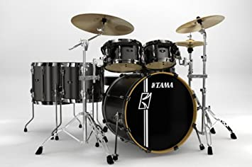 79ce996551ff TAMA SUPERSTAR CUSTOM HYPER-DRIVE 6 PIECE - GRAY PEWTER - SL62HZBNS-GP   Amazon.co.uk  Musical Instruments