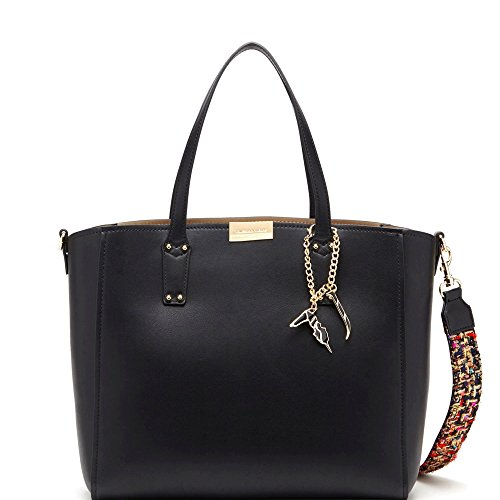 Trussardi Jeans Donna Borse tote 75B003629Y099999 K29 BORSA ROSEMARY SMOOTH ECOLEATHER Nero