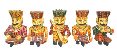 Buy Rajasthan Emporium And Handicrafts Wooden Rajasthani Durban Set