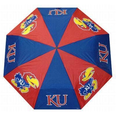(NCAA Kansas Jayhawks Folding Umbrella)