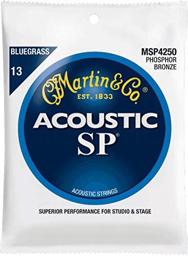 C.F. Martin & Co. MSP4250 Phosphor Bronze Acoustic Guitar Strings, Medium