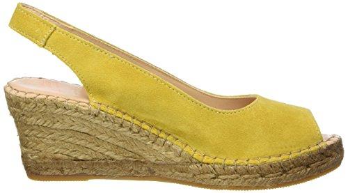 de Damen Gelb Fred Keilsandale Espadrilles Yellow Bretoniere la Mustard pwddq7B