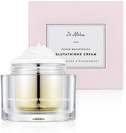 Dr.Althea Power Brightening Glutathione Cream - Natural Lightening Face Moisturizer for Even Toned Skin