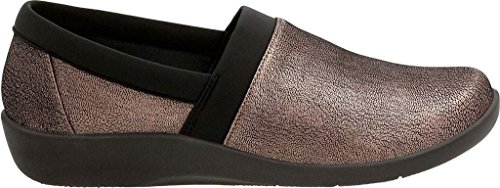 Clarks Womens Cloudsteppers Sillian Blair Instappers Loafer Brons