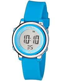 Kids Blue Digital Sports Multi Function Watch Alarm and...