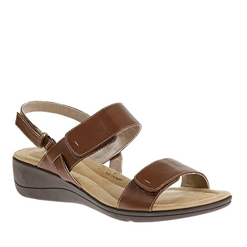 Soft Style by Hush Puppies Wela Damen US 6 Braun Slingback Sandale