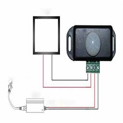 12v dc motion sensor - 9
