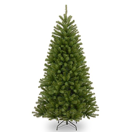 Christmas Trees - National Tree 7.5-Foot North Valley Spruce Tree, Hinged (NRV7-500-75)
