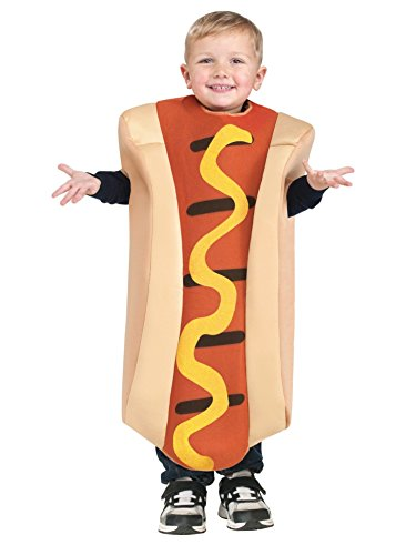 Hot Dog Toddler Costume - Baby Girl Dog Costume