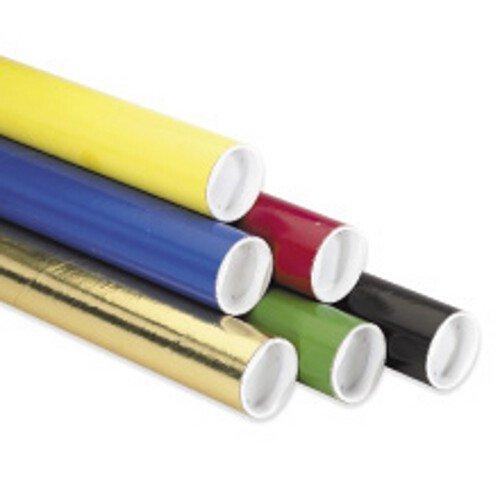 Yellow Mailing Tubes - 4