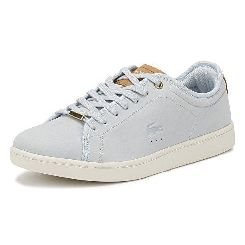 Lacoste Carnaby Evo Damen Sneaker Blu Blau
