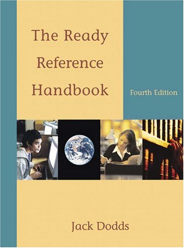 Ready Reference Handbook, The (4th Edition) (MyCompLab Series)