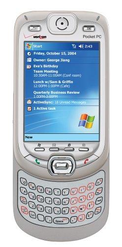 amazon com audiovox xv6600 pda phone bluetooth pocket pc for rh amazon com