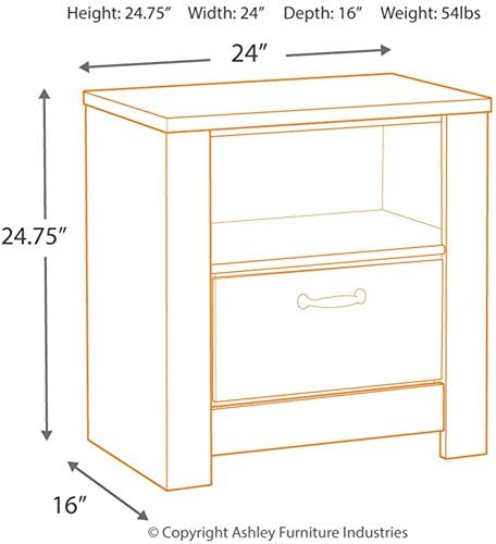 home, kitchen, furniture, bedroom furniture,  nightstands 8 discount Signature Design by Ashley Bellaby dressers, Whitewash promotion